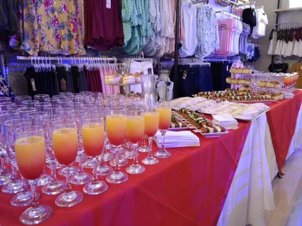 Banquetes y Eventos-Empresariales Cóctel Mimosa
